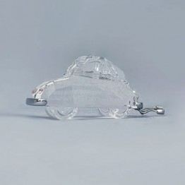 Swarovski Crystal | Silver Crystal | Crystal Moments | With Love | Just Married Car | 5492225