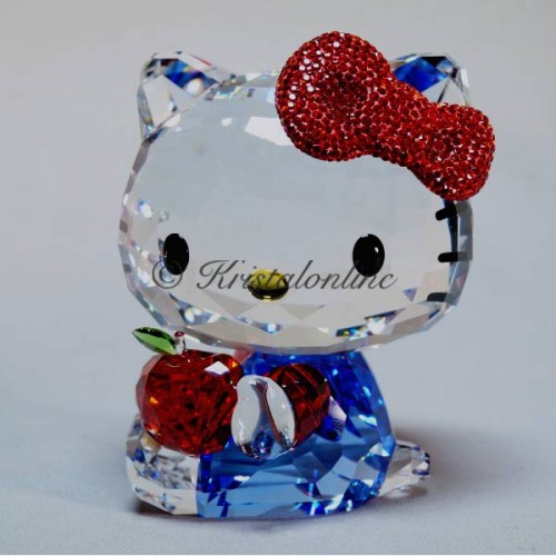 Swarovski Crystal | Sanrio | Hello Kitty - Red Apple - Large | 5400144