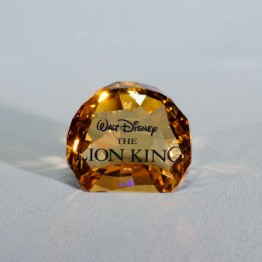 Swarovski Crystal | Disney | The Lion King - Title Plaque | 1055087