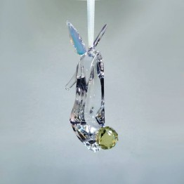 Swarovski Crystal | Disney | Tinker Bell Inspired Shoe - Ornament | 5384694