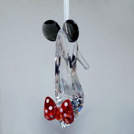 Swarovski Crystal | Disney | Minnie Bell Inspired Shoe - Ornament | 5475568