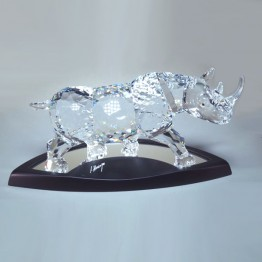 Swarovski Crystal | Limited edition Rhinoceros 2008 |945461