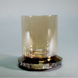 Allure Tea Light - Gold Tone