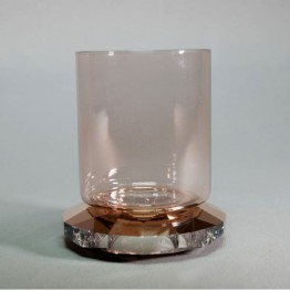 Allure Tea Light - Rose Gold Tone