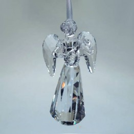 Swarovski Crystal | Silver Crystal | Christmas | Angel Ornament - Annual Edition 2018 | 5397776
