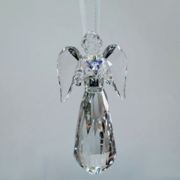 Swarovski Crystal | Silver Crystal | Christmas | Angel Ornament - Annual Edition 2019 | 5457071