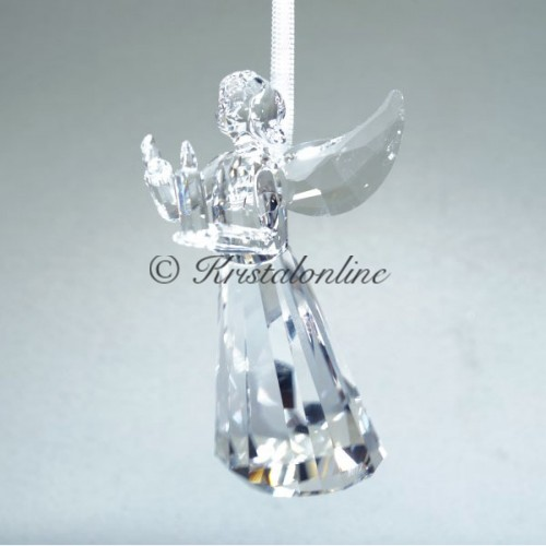Swarovski Crystal | Silver Crystal | Christmas | Angel Ornament - Annual Edition 2017 | 5269374