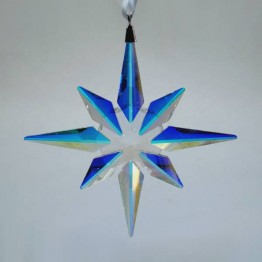 Swarovski Crystal | Christmas | Christmas Ornaments | Christmas Ornament - Star - Crystal AB | 5403200