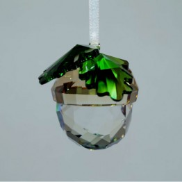 Swarovski Crystal | Christmas | Christmas Ornaments | Christmas Ornament - Acorn | 5464870