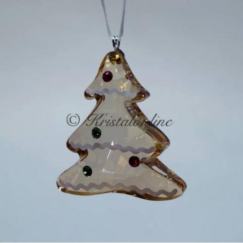 bbcb47aed Swarovski Crystal | Christmas |Christmas Ornaments | Christmas Ornament - Gingerbread  Tree | 5395976
