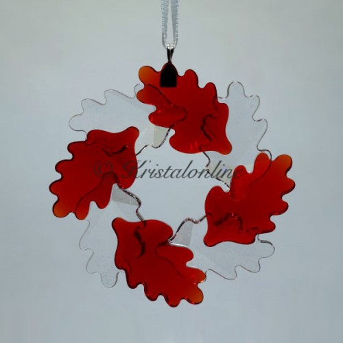 Swarovski Crystal | Christmas | Christmas Ornaments | Christmas Ornament - Wreath - Leaves | 5464866