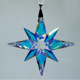 Swarovski Crystal | Christmas | Christmas Ornaments | Christmas Ornament - Star - Crystal AB - Small | 5464868