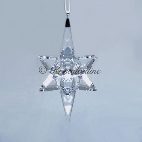 Swarovski Silver Crystal Christmas Ornament 3D Star Large 5287019