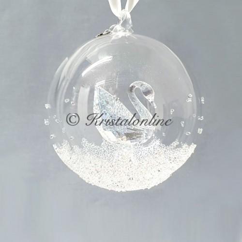 Swarovski Crystal | Silver Crystal | Christmas | Christmas Ball Ornament - Annual Edition 2020 | 5453639