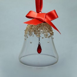 Swarovski Crystal | Christmas | Christmas Bell Ornament - Small - GS | 5464882