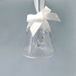 Swarovski Crystal | Christmas | Christmas Ornaments | Christmas Bell Ornament - Star - Small | 5545500