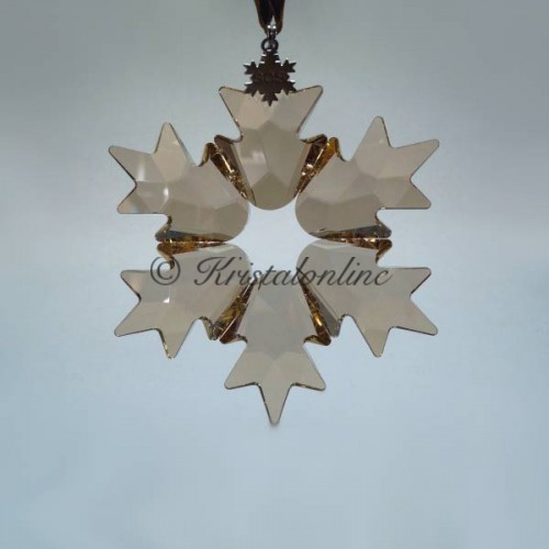 Swarovski Crystal | Christmas | Christmas Ornament - Large - SCS - Golden Shadow  - Limited Edition 2018 | 5376665