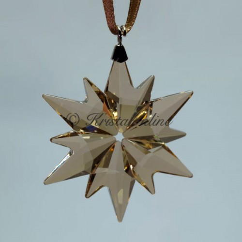 Swarovski Crystal | Silver Crystal | Christmas Ornament - Little Snowflake - 2017 - SCS - Golden Shadow | 5268831