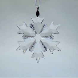 Swarovski Crystal | Silver Crystal | Christmas Ornament - Little Snowflake - 2018 | 5349843