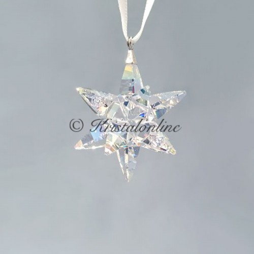 Swarovski Crystal | Christmas | Christmas Ornaments | Christmas Ornament - Star - Shimmer - Small | 5551837