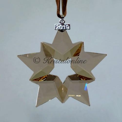 Swarovski Crystal | Silver Crystal | Christmas Ornament - Annual Edition 2019 - SCS - Golden Shadow | 5429596