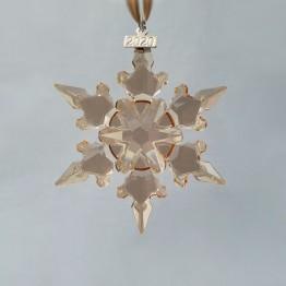 Swarovski Crystal | Christmas | Christmas Ornaments | Christmas Festive Ornament - Annual Edition 2020 - Golden Shadow | 5489192
