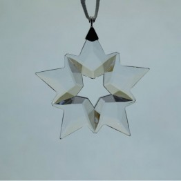 Swarovski Crystal | Silver Crystal | Christmas Ornament - Little Snowflake - 2019 | 5429593