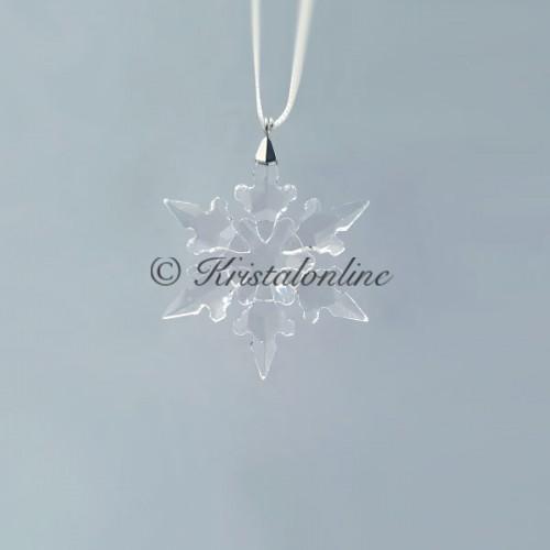 Swarovski Crystal | Silver Crystal | Christmas Ornament - Little Snowflake - 2020 | 5511042