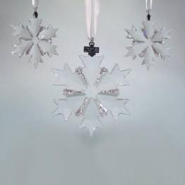 Swarovski Crystal | Silver Crystal | Christmas Ornament - Set - 2018 | 5357983