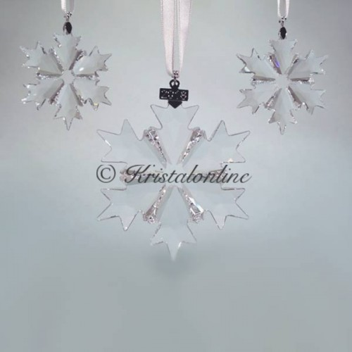 Swarovski Crystal | Silver Crystal | Christmas Ornament - Set - 2018 | 5357983