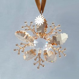Swarovski Crystal | Christmas | Christmas Ornaments | Christmas Ornament - Winter Sparkle - SCS - Limited Edition 2020 | 5533949