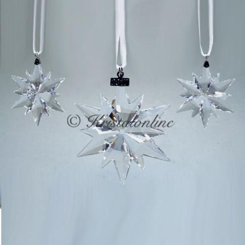 Swarovski Crystal   Silver Crystal   Christmas Ornament - Set - 2017   5268822