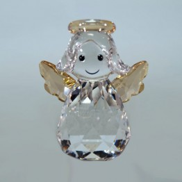 Swarovski Crystal | Silver Crystal | Christmas | Rocking Angel | 5287215