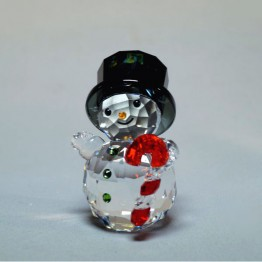 Swarovski Crystal | Christmas | Snowman with Candy Cane | 5464886