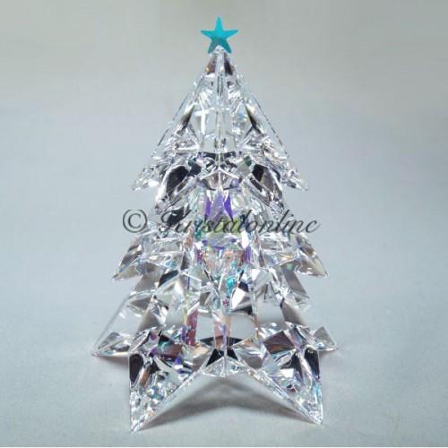 swarovski crystal silver crystal christmas christmas tree crystal ab 5223605