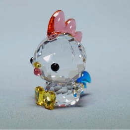 Swarovski Crystal | Silver Crystal | Lovlots | Zodiac - Decisive Rooster | 5302559