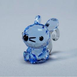 Swarovski Crystal | Silver Crystal | Lovlots | Zodiac - Charming Rat | 5302558