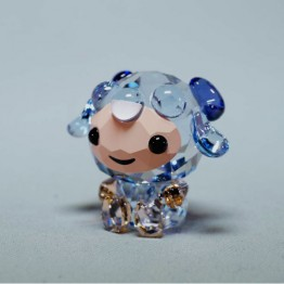 Swarovski Crystal | Silver Crystal | Lovlots | Zodiac - Sincere Sheep | 5302560