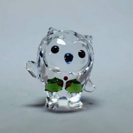 Swarovski Crystal | Silver Crystal | Hoot - Happy Holidays - Annual Edition 2018 | 5393324