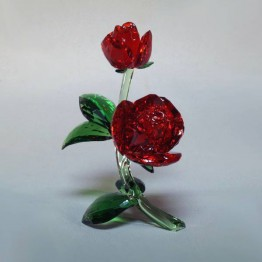 Swarovski Crystal | Crystal Paradise | Red Rose | 5424466
