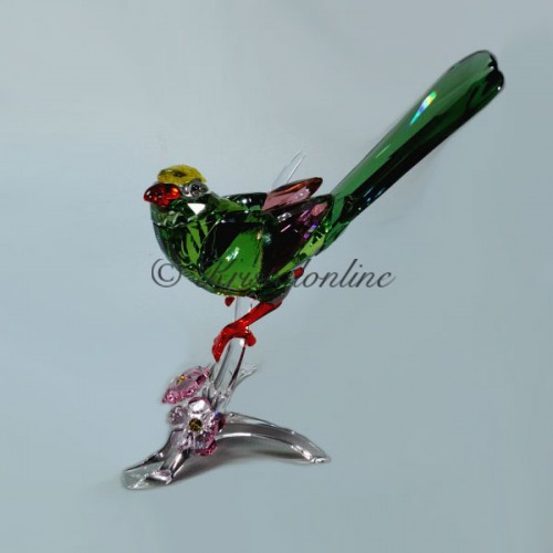 Swarovski Crystal | Crystal Paradise | Green Magpie | 5244650