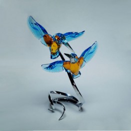 Swarovski Crystal | Crystal Paradise | Kingfisher Couple 5136835