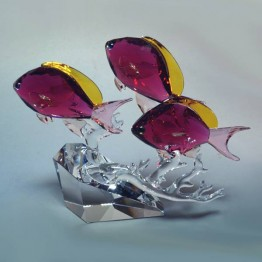 Swarovski Crystal | Crystal Paradise | Anthias Fish Trio | 5428652