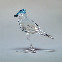 Swarovski Crystal | Silver Crystal | Feathered Beauties | Blue Jay | 5470647