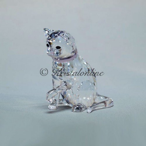 Swarovski Crystal | Silver Crystal | Countryside | Cat Mother | 5465836