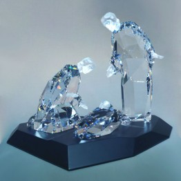Swarovski Crystal | Special Editions | Holy Family on Display - rare | 680865