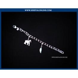 2009 Gorilla Bracelet Charm