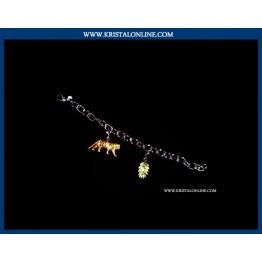 2010 Tiger Bracelet Charm