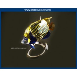 Swarovski Crystal | Crystal Paradise | Emperor Angelfish - Jonquil 1072590