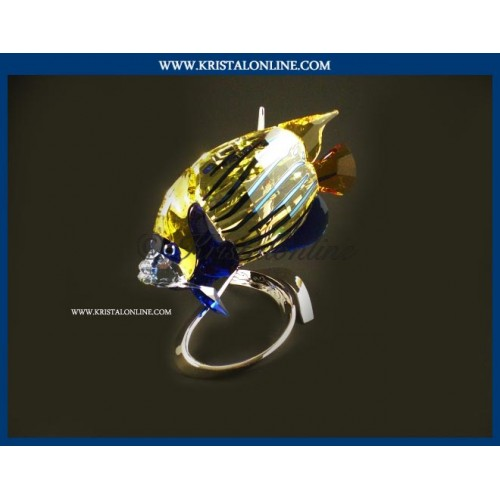 Swarovski Crystal   Crystal Paradise   Emperor Angelfish - Jonquil 1072590